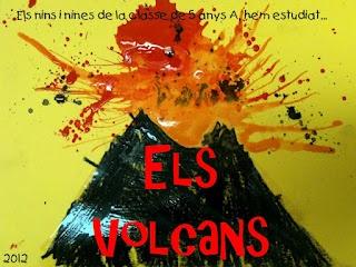 Ses Meves Feinetes: Projecte Els Volcans I (teoria)