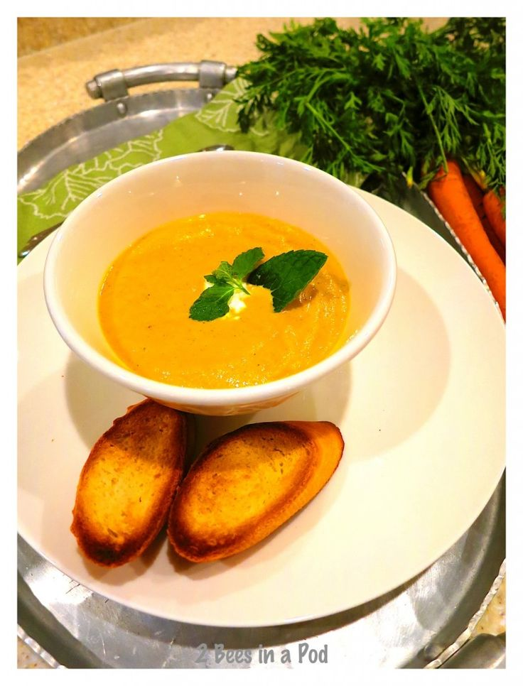 Weight Watchers Thai Creamy Carrot Soup recipe. Yummy for Fall