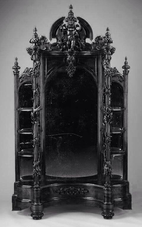 Great Gothic Furniture WhenDarknessFalls Pinterest