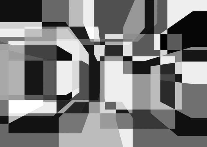 Frank Richter, random cubes 01.024/ 1998/ C-PRINT (generative art)