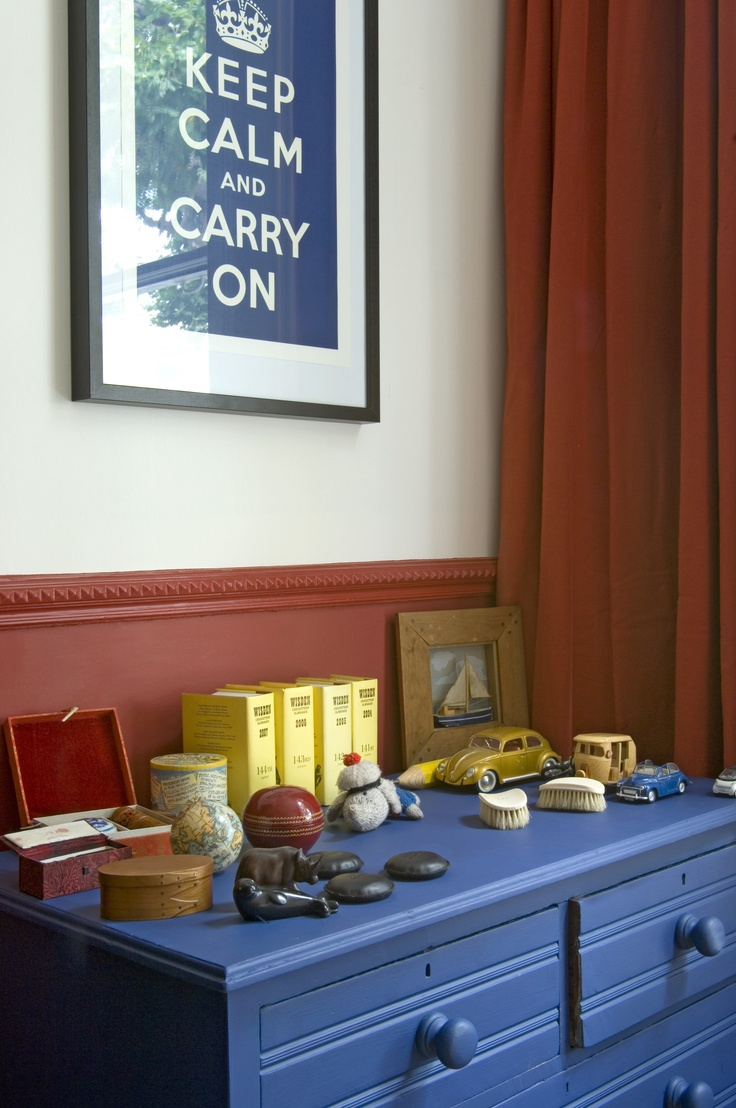 Choosing the paint colour for any direction room angela bunt - Chest Of Drawers In Farrow Ball S Drawing Room Blue Estate Eggshell