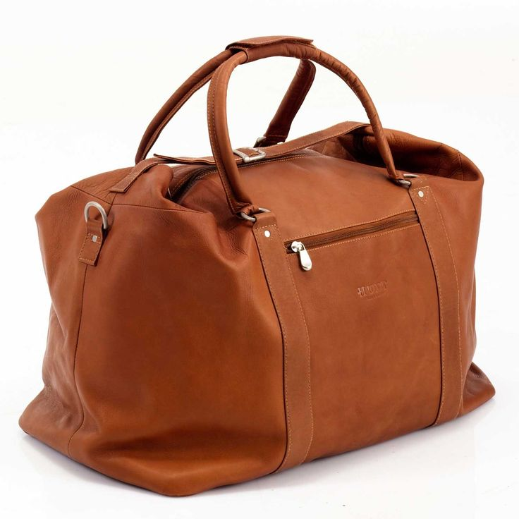 Hunt Grip - Leather duffle bag