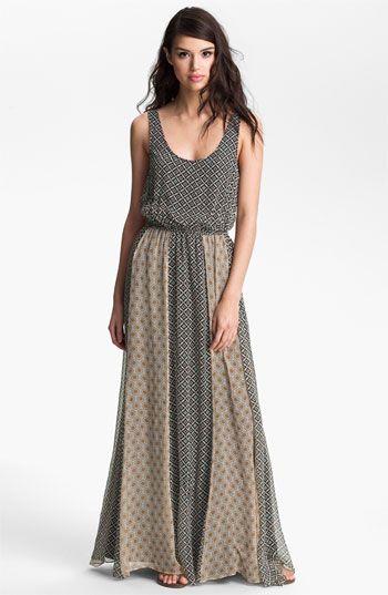 Ella Moss 'Sun Tile' Print Maxi Dress available at #Nordstrom