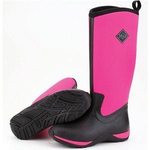 These Muck Boot Arctic Adventure - Hot Pink are colourful ladies muck boots for that extra splash of fun on rainy days.
