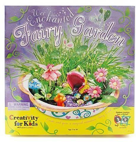 The Enchanted Fairy Garden   Kids Create Their Own Fairy Garden Kit