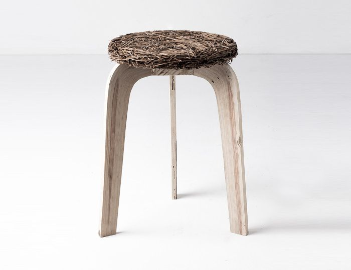 Pine collection mobilier aiguilles de pin par Samuel Reis #pin_it #design #home #furniture @mundodascasas www.mundodascasas.com.br