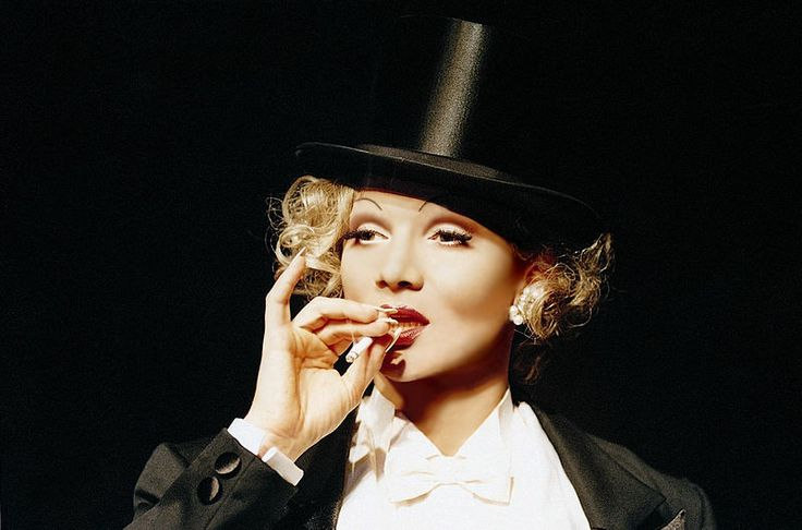 CHRIS Kolonko as Marlene Dietrich