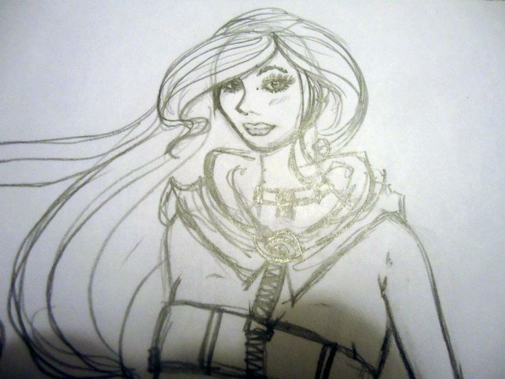"""Another look to Sketch """"Hero girl"""" by Moma"""