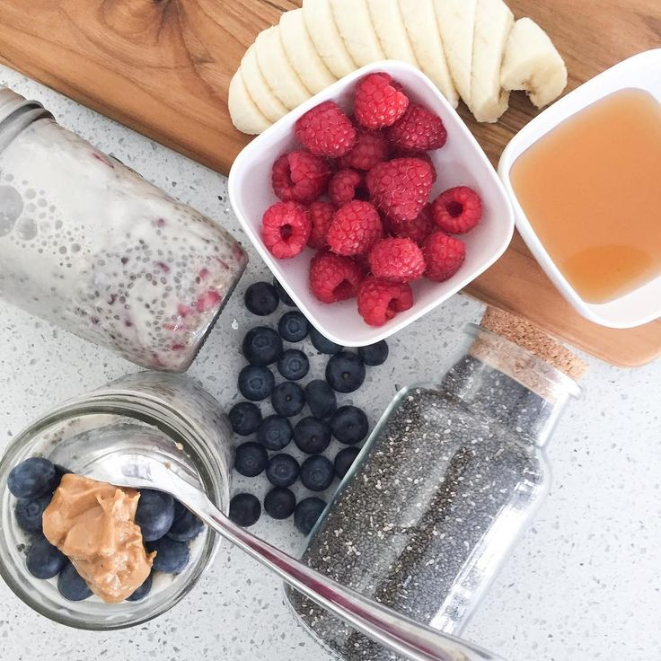 Looking for a make ahead breakfast? Give this chia seed pudding a try. You can make it up to 3-4 days in advance. Link for recipe @ thefitnest.ca in bio;) Enjoy!