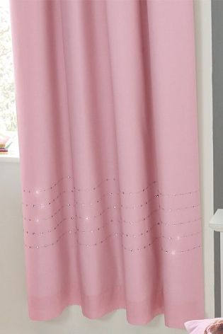 Buy Light Pink Sequin Pencil Pleat Blackout Curtains From The Next UK  Online Shop
