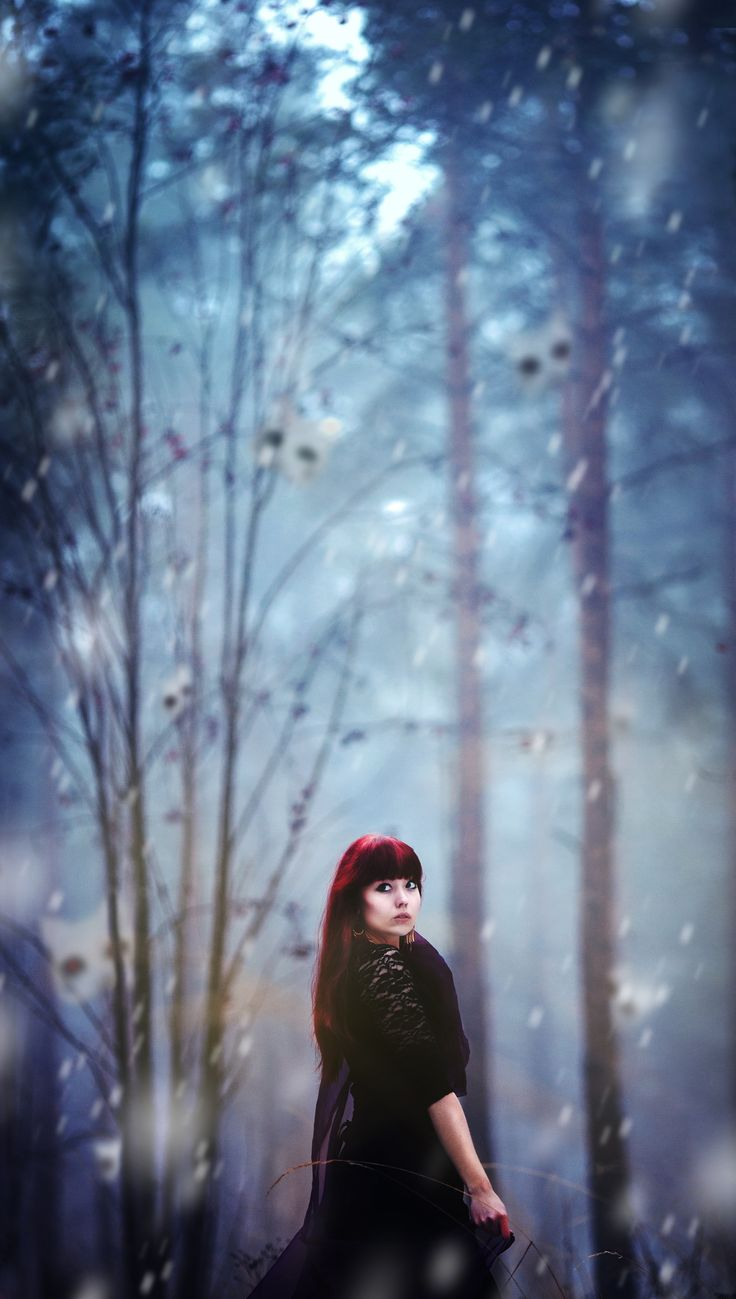 """From """"Walking with strangers"""", 2014 #photography #conceptual #fantasy #inspiration #forest"""