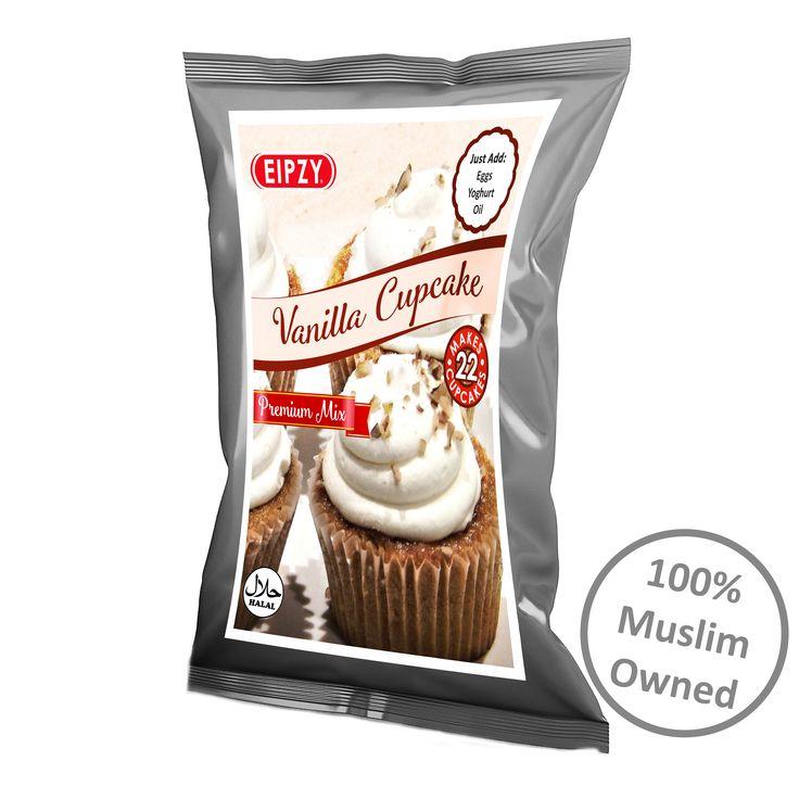 Vanilla Cupcake Premix