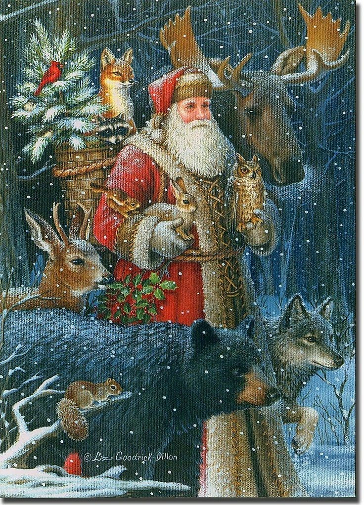 210 Best Woodland Santas Images On Pinterest Father