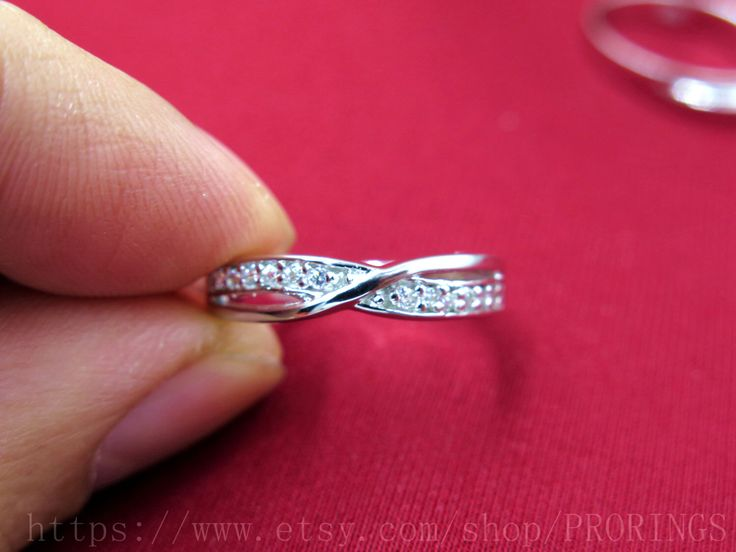 Platinum wedding ring, infinity Ring, Wedding Couples Rings, his and hers promise ring sets, wedding band, matching ring, Engagement Ring by PRORINGS on Etsy https://www.etsy.com/listing/218174768/platinum-wedding-ring-infinity-ring