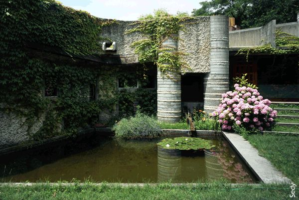 Carlo Scarpa:  Villa Ottolenghi, Verona, Italy, 1978.