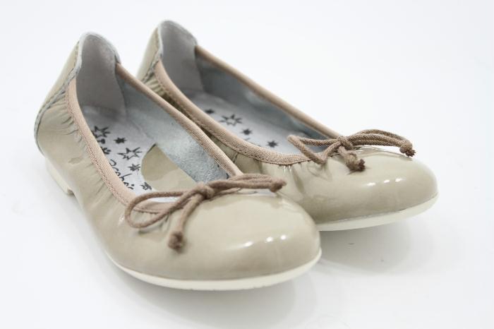 Acebos ballerina Patent Beige
