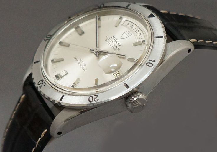 Rolex Tudor 7020/0 Jumbo Oyster Prince Day-Date Stainless Steel Man's Watch