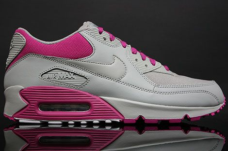 Pink Nike Air Max 90 | ... WMNS Air Max 90 Schoenen > Nike WMNS Air Max 90 Medium Grey Rave Pink