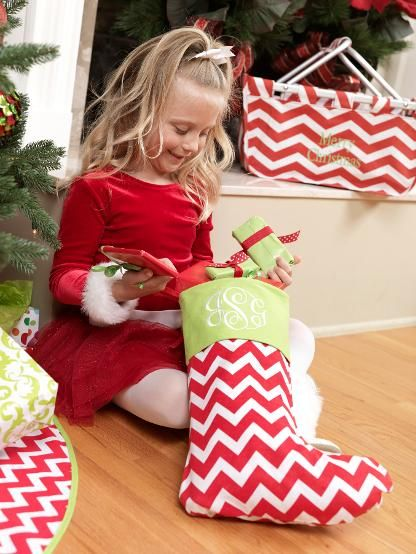 Holiday Monograms and Stockings.. Need to order matching stockings and a tree skirt for next year!