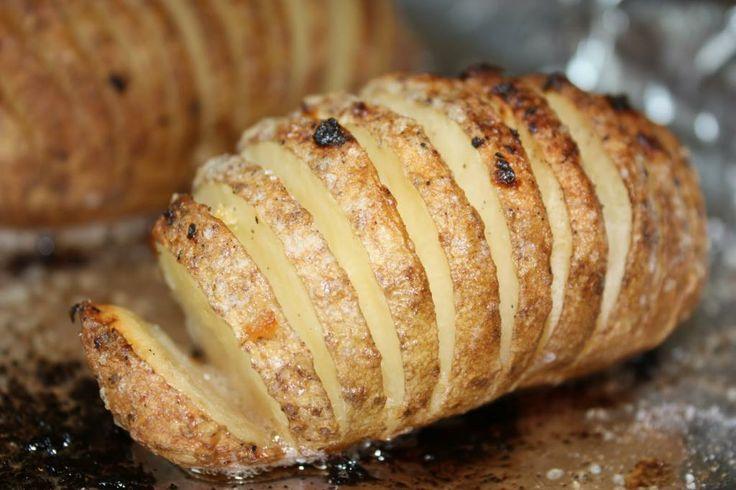 Hasselback aardappels - Lekker en Simpel