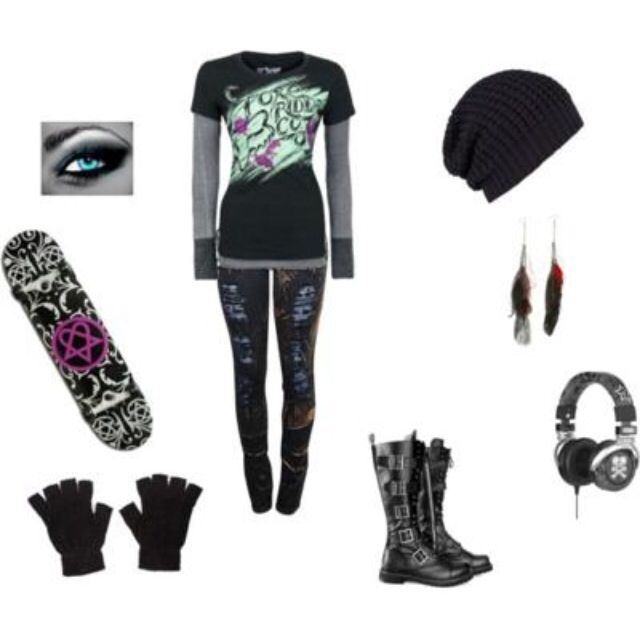 121 best images about Skater on Pinterest | Skate girl Skater style and Nightmare before christmas