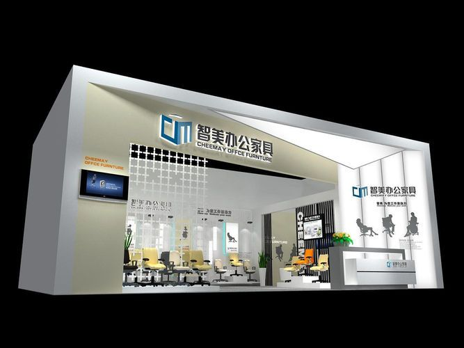 Exhibition Stall Rendering : Ideas about exhibition stall design on pinterest