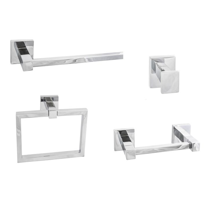 Sure-Loc Vlora Modern 4-piece Bathroom Accessory Set