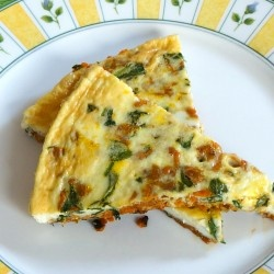 Sweet Potato Spinach Frittata PLUS tons of whole30 recipes!