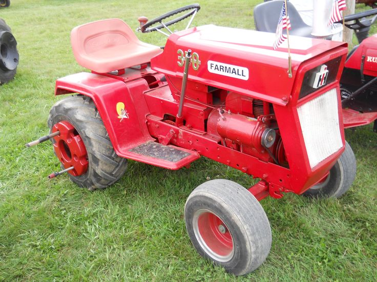 Ih Garden Tractors : Images about lawn mowers very small tractors on