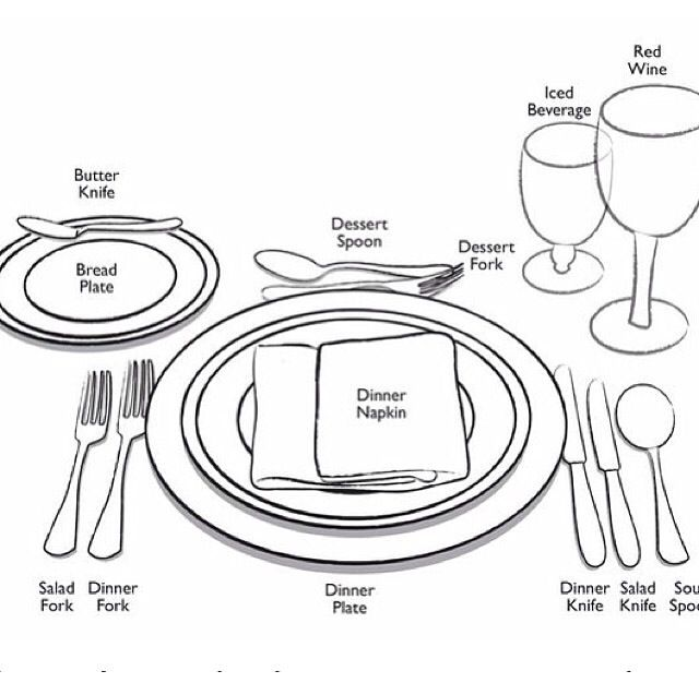 Best 25+ Proper table setting ideas on Pinterest | Brunch ...