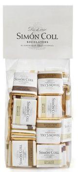 Simon Coll 5g. Minitablete de ciocolata asortata (100/bag) FARA GLUTEN
