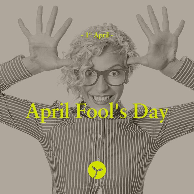 Celebrated on April 1, April Fool's Day is a day for tricks, pranks and jokes. Be careful! #AprilFoolsDay #holiday #holidays #sprout #freedomtogrow