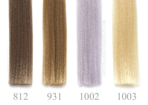 Revlon Professional Nutri Color Creme 3 In 1 Cocktail Swatches Blonde 812 931 1002 1003 Revlon Color Revlon Professional Beige Hair