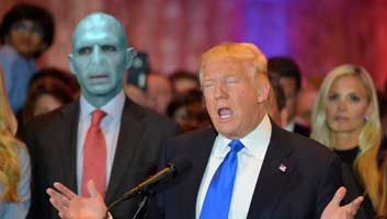 Donald Trump appoints Lord Voldemort as Chief of Staff