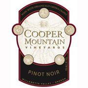 Cooper Mountain Reserve Pinot Noir 2010 (Oregon)....delicious