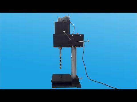 MINI SIERRA CIRCULAR ELECTRICA CASERA FACIL DE HACER Para Cortar Madera Cortadora De Mesa - YouTube