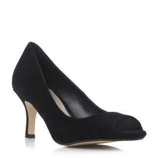 DUNE LADIES DELPHINN - Peep Toe Mid Heel Court Shoe - black | Dune Shoes Online