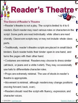 No More Bullies! Reader's Theatre Script -How to Stop Bullying