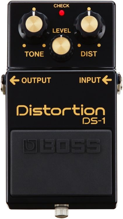 Special Edition Distortion Effects Pedal for Guitar, Bass, and Keyboard with Distortion, Level, and Tone Controls