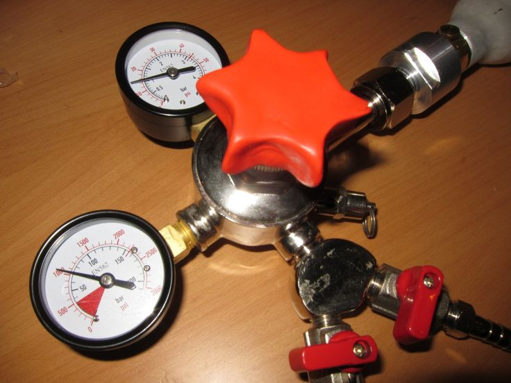 Improve a CO2 regulator control knob