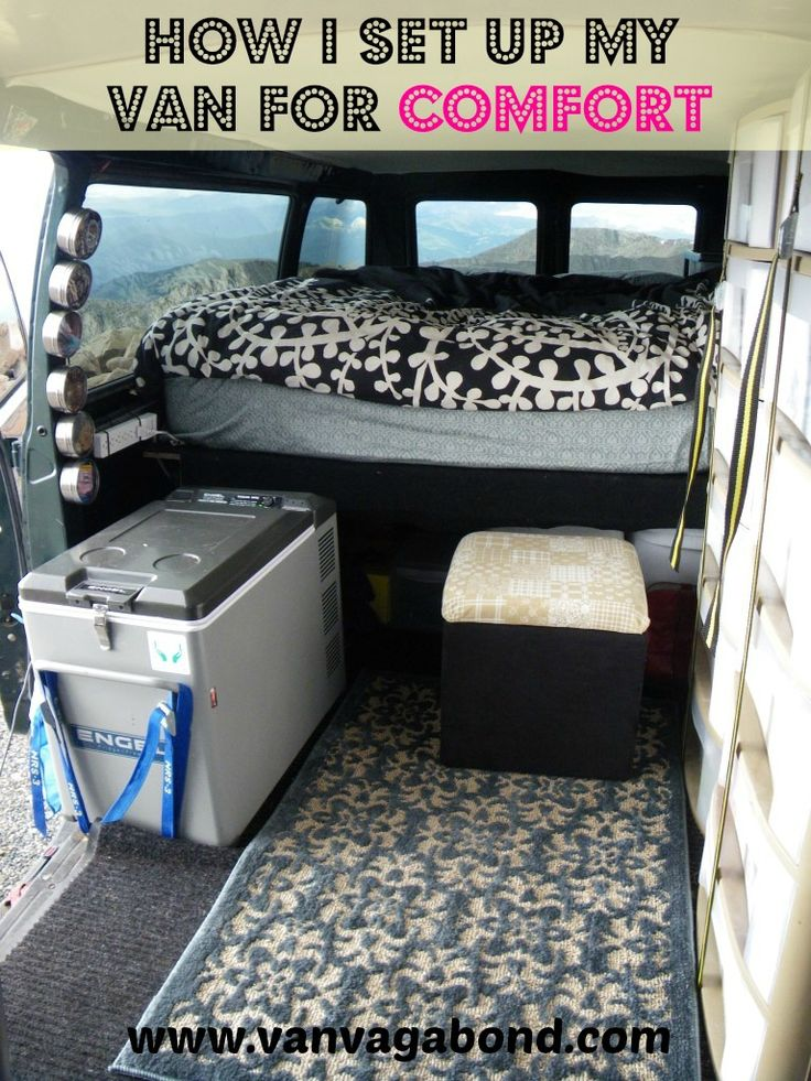 How a solo female customized her 4x4 van for comfort using minimal tools