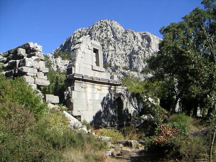 Thermessos - Ruinen einer Stadt im Taurus