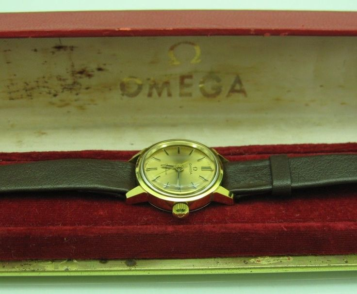 This Watch comes with Original Omega Signed Box and original Omega signed black leather band. We are the only warrant of Rolex watches for sale. As with most second-hand watches, the original box or documents are not available because they were not retained by the original owner watches. | eBay!