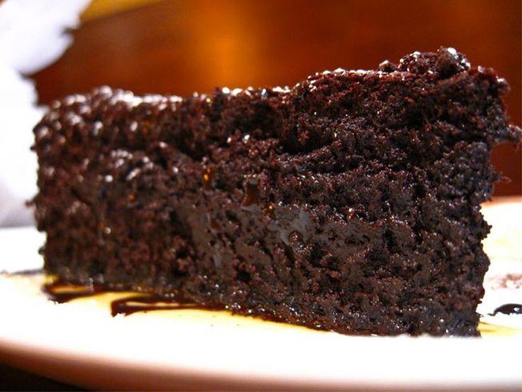 Torta Caprese (Torta de chocolate)