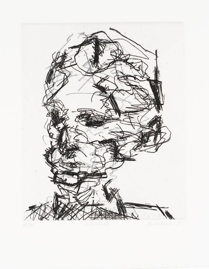 Frank Auerbach 'Michael', 1990 © Frank Auerbach