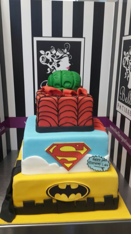A Marvel comic hero masterpiece by Belle's Patisserie