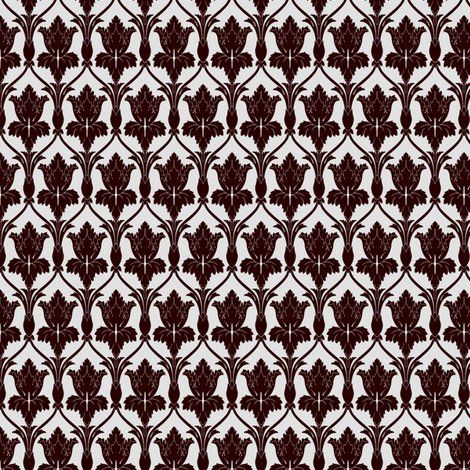 Bookmarking for the future: You can buy fabric in the Sherlock wallpaper pattern. (Someone make me a skirt!)
