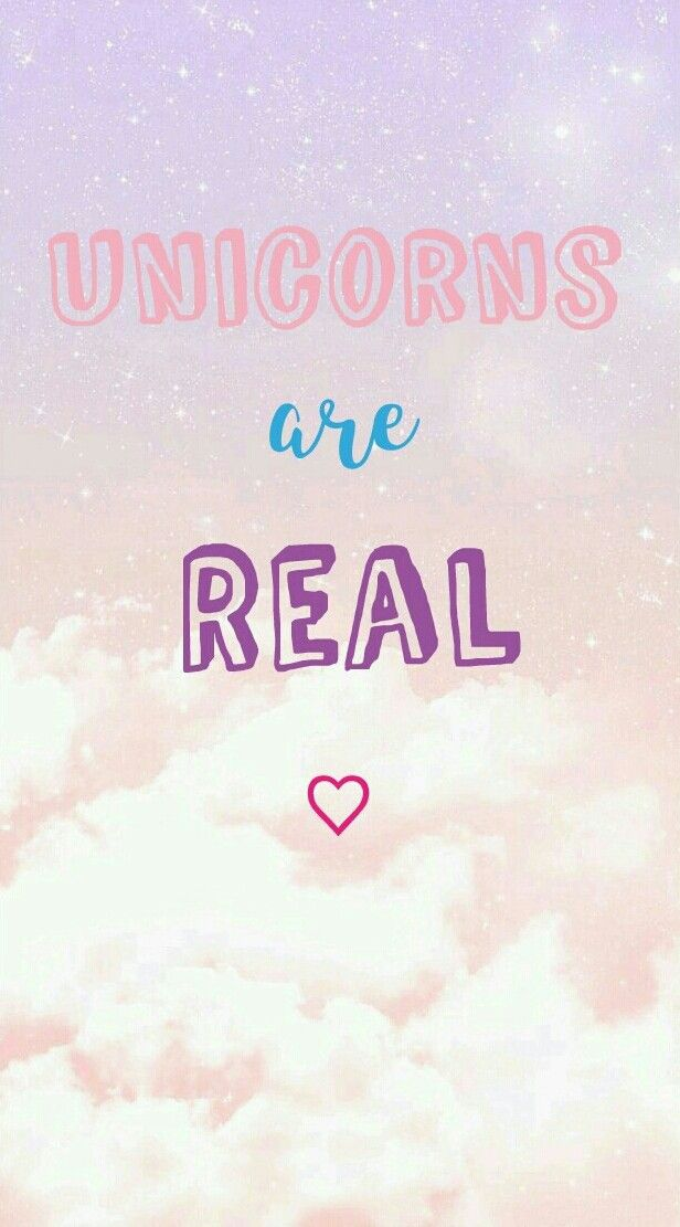 Unicorns Are Real  Phone wallpaper  #unicorn