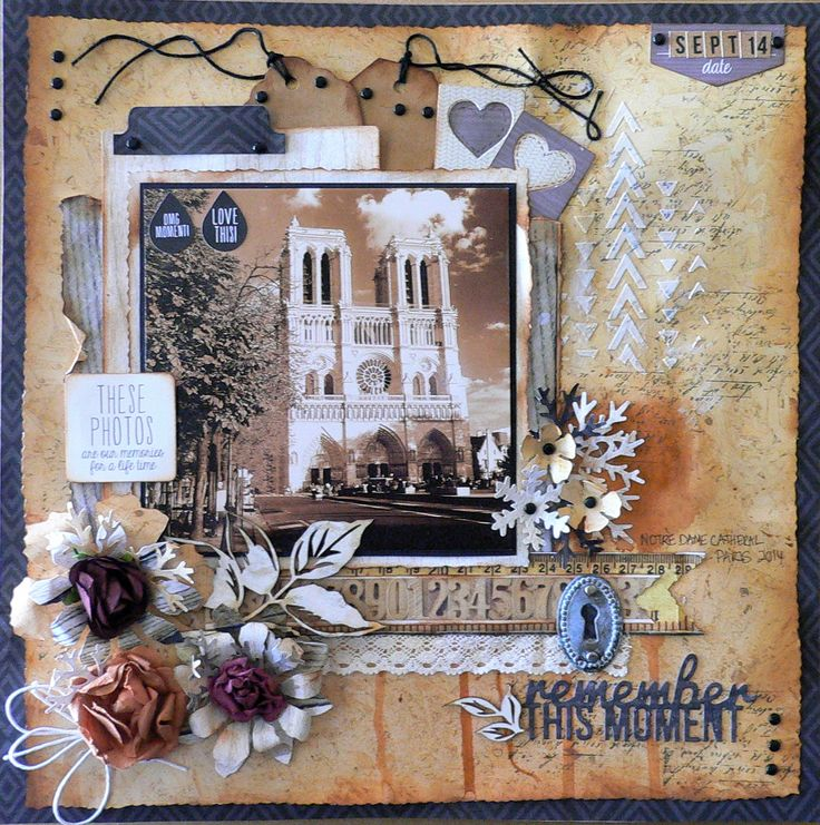 """Remember this moment - Kaisercraft DT 1014-15 using the paper collection """"Hello Today"""