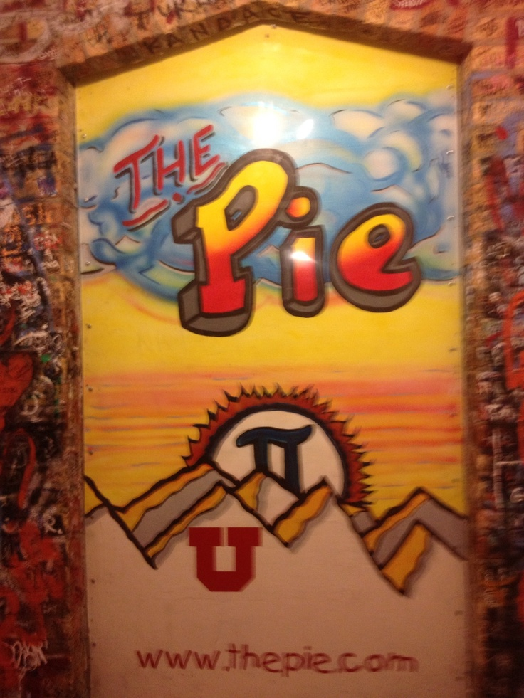 The Pie Pizzeria SLC UT.  Many good dates there!!